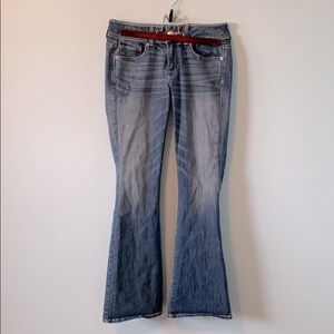 2 for 15! Stretchy Mid-Rise American Eagle Jeans